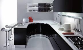 kitchen design black homepeek