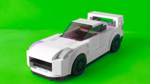lego toyota supra my lego nissan skyline gtr r35 2017 as a speed champions car with