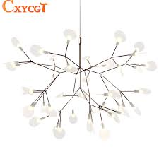 tree chandelier modern led large branch tree chandelier