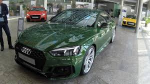 audi rs5 coupe new model 2017 sonoma green colour walkaround