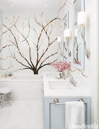 Bathroom Mural Ideas by Flower Mural Bathroom Design The Interior Design Inspiration Board