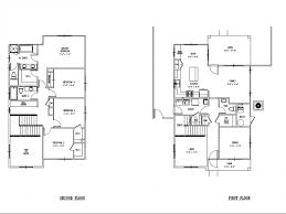 Single Family Floor Plans 4 Bed 2 5 Bath Apartment In Schofield Barracks Hi Island Palm