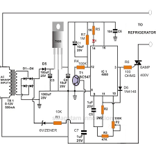 how to build a simple electronic refrigerator appliance compressor