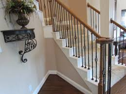 Wooden Stair Banisters Iron Stair Parts