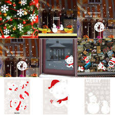 Christmas Translucent Window Decorations by Christmas Window Decorations Ebay