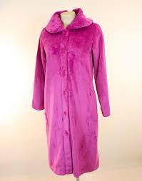 robe de chambre canat femme robe de chambre fushia en polaire ultra chaude de canat