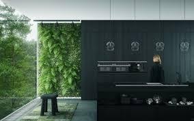 mur noir cuisine cuisine blanc et noir 40 propositions qui donnent envie d essayer