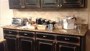 Distressed Black Kitchen Island Distressed Black Painted Kitchen Cabinets Rberrylaw Black