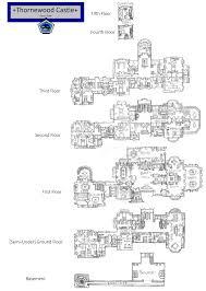 floor castle floor plans