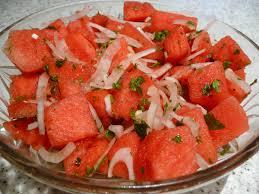 bentley watermelon dinner u2013 turkey breast steaks watermelon salad and coleslaw the