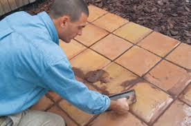 Concrete For Backyard by How To Lay Tile Over Concrete Extreme How To