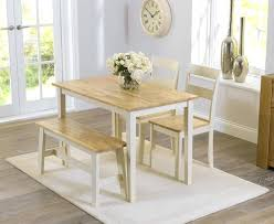 Dining Tables With Bench Seating Dining Table With Bench Seats U2013 Mitventures Co
