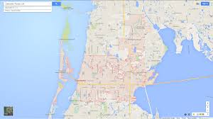 Map Of Clearwater Beach Clearwater Florida Map