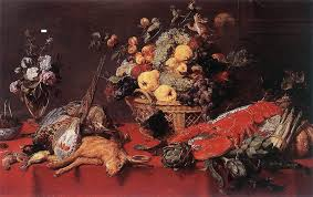 Basket Of Fruit Still Life With A Basket Of Fruit 1635 Frans Snyders Wikiart Org