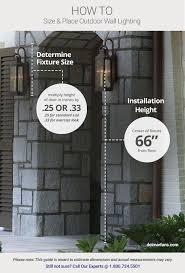 How Wide Is A Standard Patio Door by Outdoor Lighting Ideas U0026 Tips Add Curb Appeal With Front Door