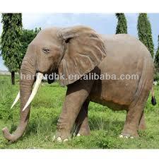 size elephant fiberglass resin garden animals