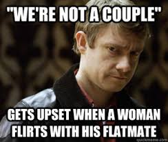 John Meme - defensively heterosexual john watson know your meme