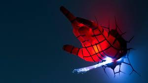 Avengers Wall Lights Spider Man Hand 3dlightfx