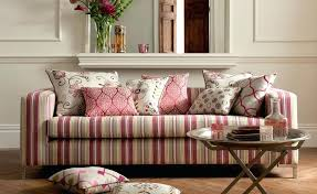 Striped Sofas Living Room Furniture Striped Sofas Living Room Furniture Fashionable Pink Sofa Pillows