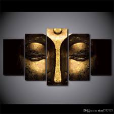 Buddha Home Decor 2017 No Frame Half Face Buddha Paintings On Canvas Modern Home