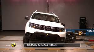 si e auto crash test ncap crash test of dacia duster