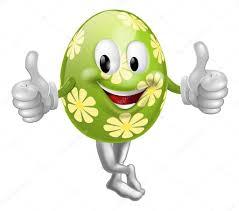 thumbs up cartoon easter egg man u2014 stock vector krisdog 19703529