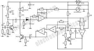 spy rf bug detector circuit