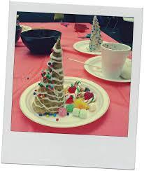 holiday crafts for teens u2013 waffle cone christmas trees raincity