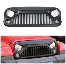 jeep wrangler front bumper black abs front bumper grill guard for jeep wrangler u0026unlimited
