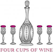 four cups passover tbz links
