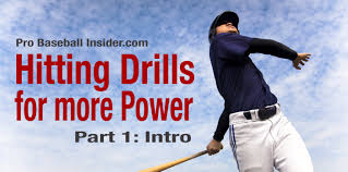 baseball hitting drills for power part 1 intro video pro