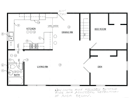 floorplans buildingpermit proposed sample building plans for homes