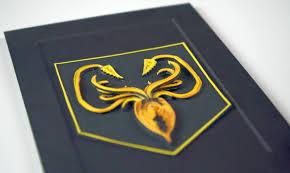 house greyjoy gold u0026 black kraken banner sigil game of