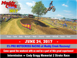 pro motocross live muddy creek raceway by victory sports