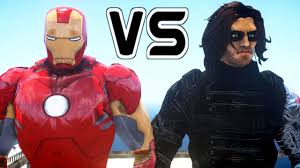 Sergeant James Barnes Iron Man Vs Winter Soldier Epic Battle