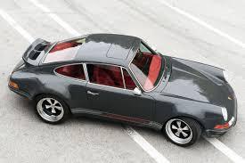 porsche singer black lightspeed classic 911 is a real rival for porsche singer