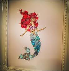 Princess Wall Decals For Nursery by Disney The Little Mermaid Wall Art Baby Shower Ariel Gift Girls
