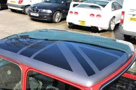 Car Bonnet Flags Classic Mini U2013 Assortment Of Carbon Dipping