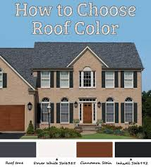 ideas about house and roof color combinations free home designs