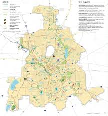 Dart Dallas Map Maps And Images Trinity Park Conservancy