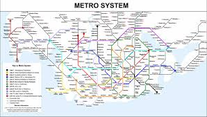 Map Of Gotham City The Gotham City Subway Greater Auckland