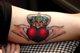 claddagh tattoos tattoosandpiercings net