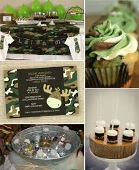 camouflage baby shower baby shower camo theme 5921
