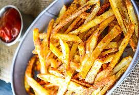 recette de cuisine simple et bonne recette facile de frites maison sans friteuse