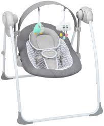 Argos Baby Swing Chair Badabulle Comfort Swing Bouncer White Grey Times 64 99