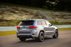 monster jeep grand cherokee mileti industries 2018 jeep grand cherokee trackhawk first drive