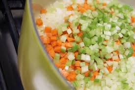 mirepoix cuisine em sweat veggies that is bon appetit
