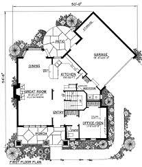 tudor house plan chp 50759 at coolhouseplans com home floor