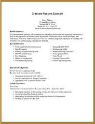 No Job Experience Resume Example by Resume For First Job No Experience