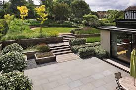 inspiring designing a garden on slope pics design ideas andrea